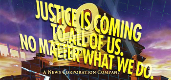 20th Century Fox - Justice is Coming to All of Us. No Matter What We Do.